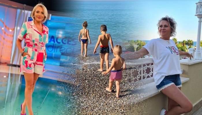 Mirela Vaida, imagini de colecție din vacanță. Ce destinație de basm a ales prezentatoarea Acces Direct pentru întreaga familie / FOTO