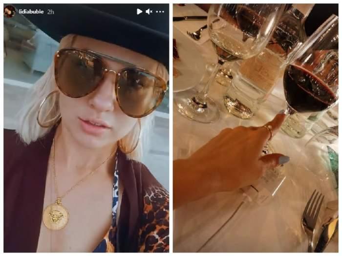 Lidia Buble, colaj din Ibiza