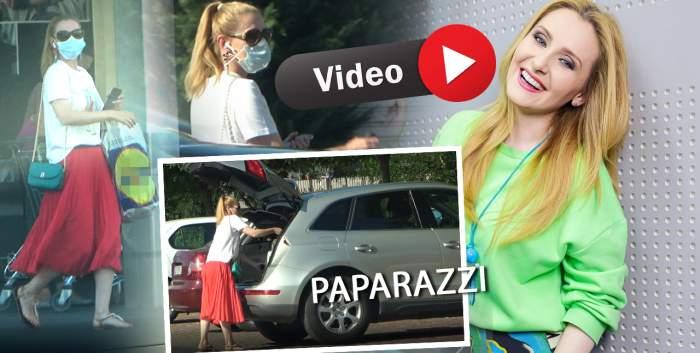Alina Sorescu, cochetă chiar și la cumpărături. Cum a arată soția lui Alexandru Ciucu în timp ce făcea aprovizionarea pentru acasă / PAPARAZZI