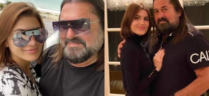 Gheorghe Gheorghiu alături de fiica sa