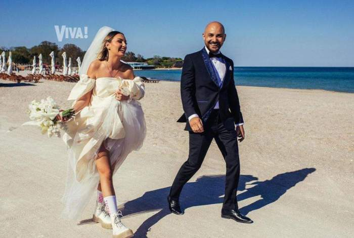 Cum a răspuns Alexandra Stan zvonurilor potrivit cărora are probleme în căsnicie la doar trei luni de la nuntă