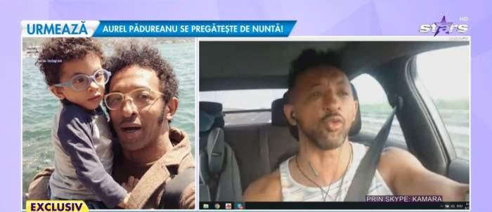Kamara, interviu din mașină la Antena Stars