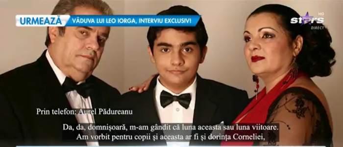 captură video cu familia Corneliei Catanga