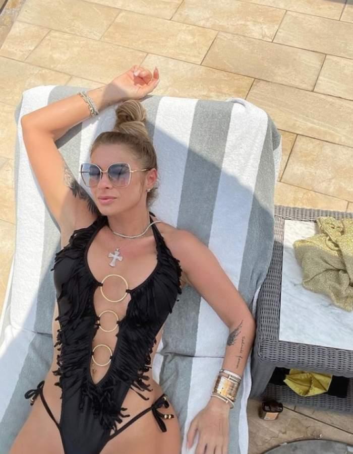 Anamaria Prodan, apariție de senzație la piscină! Cunoscuta impresară întoarce mereu toate privirile