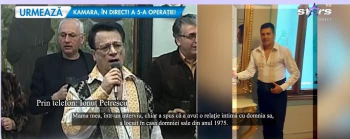 captură cu Ionuț Petrescu și Ion Dolănescu la Antena Stars