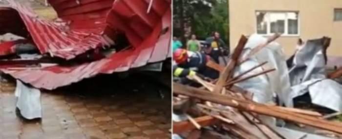 Fenomenele meteo extreme au făcut prăpăd printre gospodăriile oamenilor! Zeci de case au fost inundate și lăsate fără acoperiș
