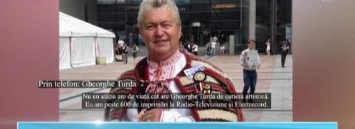Gheorghe Turda, primele declarații după ce au fost făcute publice înregistrări în timp ce înjură. Ce are de zis artistul privind această situație / VIDEO