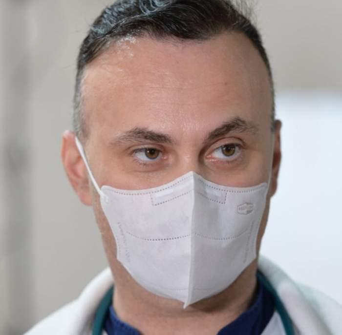 Numărul de cazuri COVID a crescut cu 60%, în ultima săptămână. Medicul Adrian Marinescu, anunț îngrijorător despre valul IV
