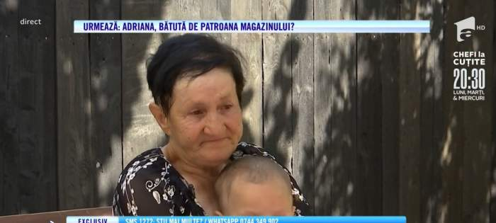 Elena, o bunică disperată la Acces Direct