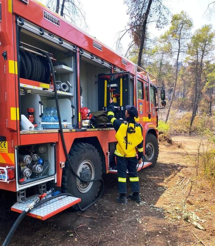 """142 de pompieri români vor pleca într-o nouă misiune.Florin Cîțu: """"Grecia are din nou nevoie de noi!"""""""