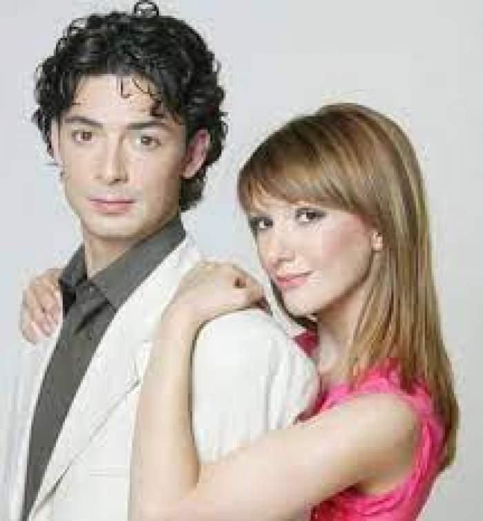 Dan Bordeianu și Adela Popescu îmbrățișați