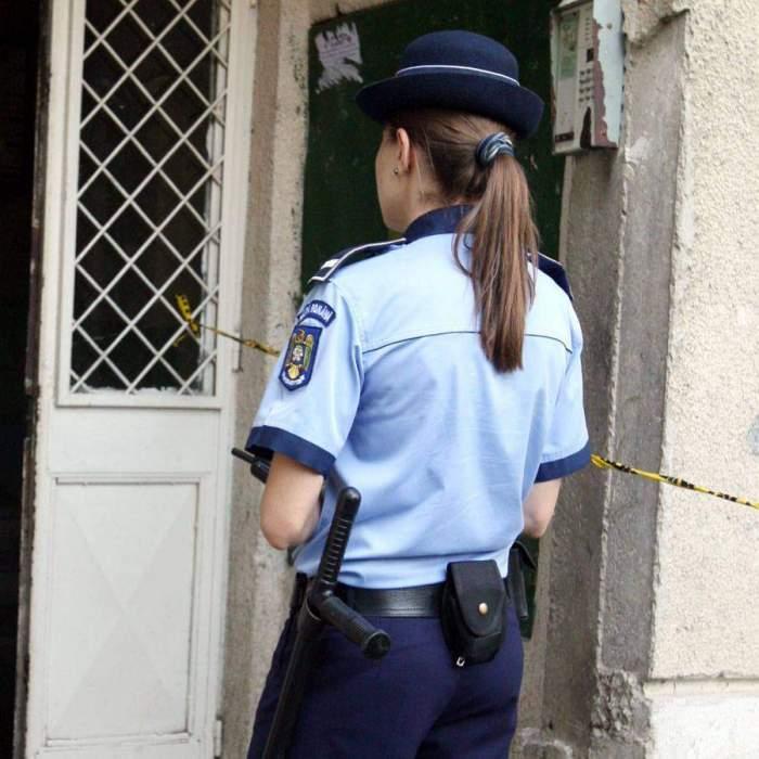 Scandal de proporții în fața unui bar din Botoșani! O polițistă a fost bătută de un tânăr recalcitrant / VIDEO