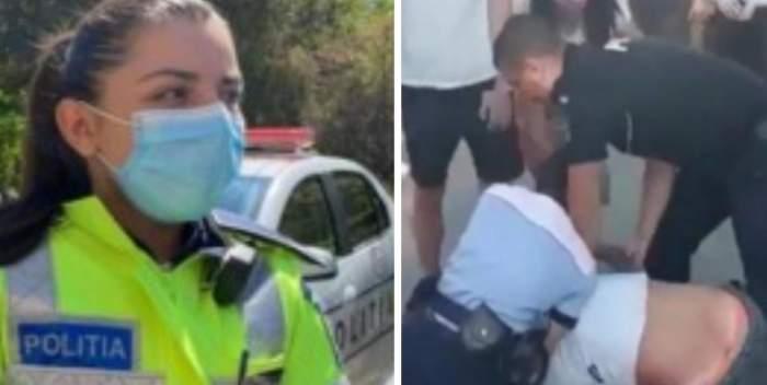 Poliţista agresată, eroină în Botoşani, după ce în urmă cu trei luni a salvat o copilă ţinută ostatică de cătretatăl ei. A fost decorată cu cu cea mai înaltă distincţie