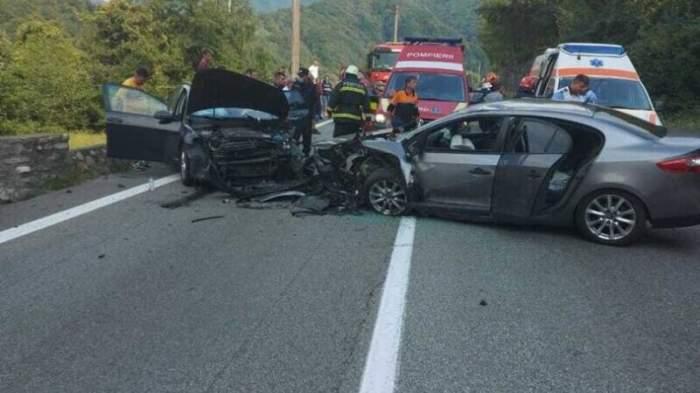 Accident de proporții în Vâlcea! S-au înregistrat șapte victime, printre care și un copil de trei ani / FOTO