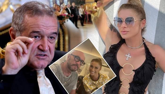 Colaj cu Anamaria Prodan și Gigi Becali.