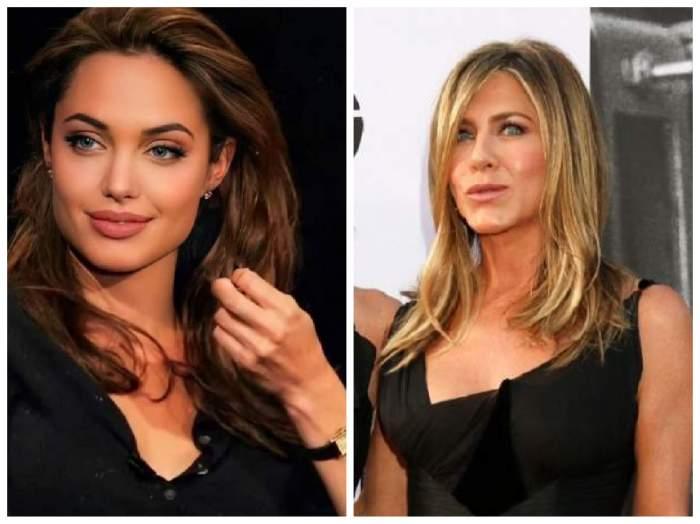 Angelina Jolie și Jennifer Aniston