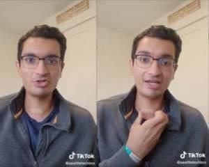 Un tânăr de 22 de ani și-a dat seama că suferă de cancer, pe TikTok. Ce detaliu ciudat au observat internauții în clipurile sale / FOTO