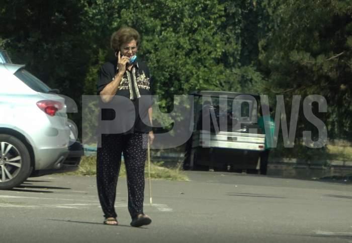 Irina Loghin, mereu energică chiar și la 82 de ani. Interpreta face mișcare în parc în fiecare zi / PAPARAZZI
