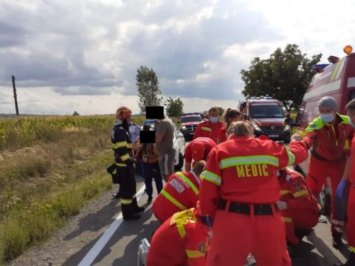 Accident tragic în Bihor! O persoană a murit şi alte 5 sunt grav rănite / FOTO