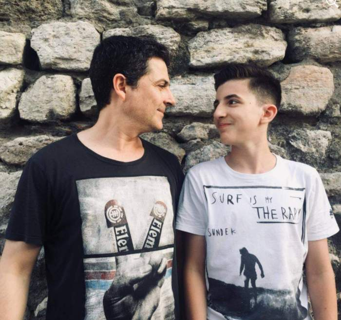 """Mihai Călin, despre relația cu fiul său. Cum se înțelege, de fapt, actorul din """"Adela"""" cu Matei"""