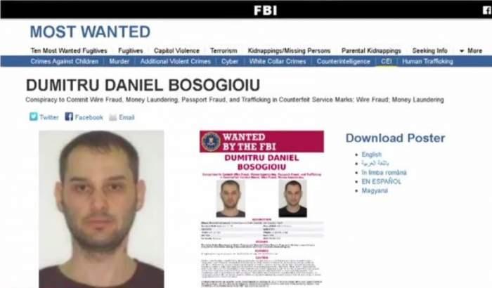 Român căutat de FBI, prins în Capitală. Bărbatul era urmărit de autoritățile americane de aproape 10 ani
