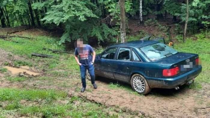 Patru turiști maghiari au rămas blocați pe un drum forestier din Argeș. Cum au fost găsiți de salvamontiști
