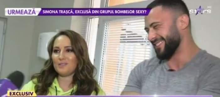 """George de la """"Insula Iubirii"""" și Mădălina, zâmbitori la Antena Stars"""