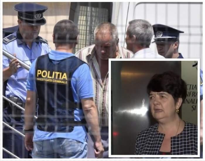 Colaj foto: Carmen Obârșanu și Poliția