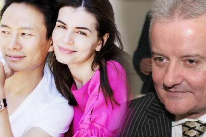 Colaj foto cu Irinel Columbeanu, Mr. Pink și Monica Gabor