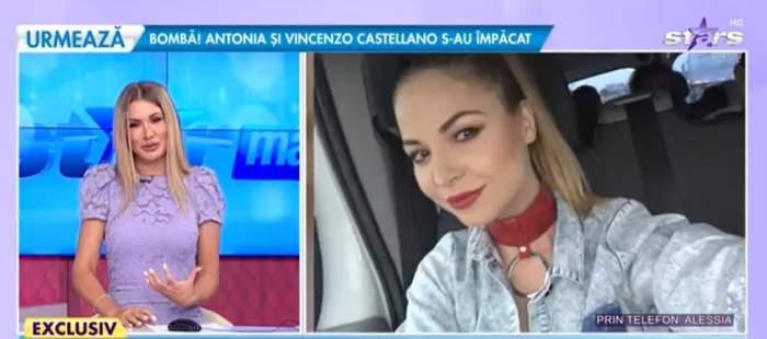 Alessia, prin telefon la Antena Stars