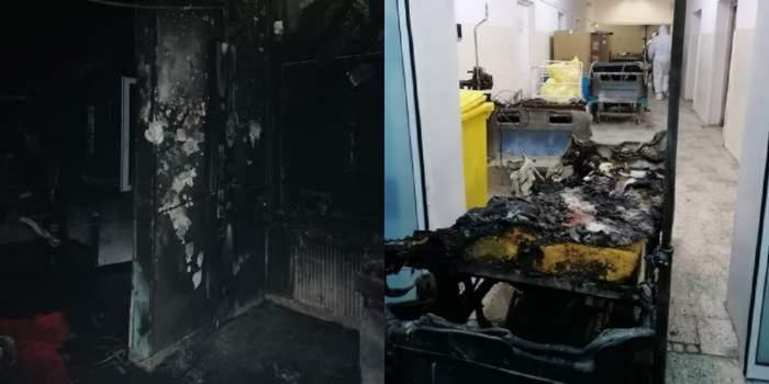 Tragedie Piatra Neamț, imagini din saloanele afectate
