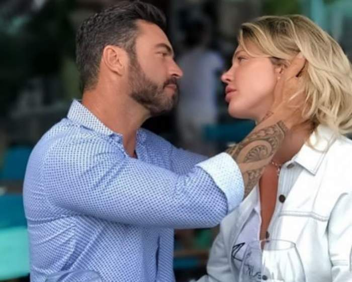 Alina Vidican și Claude Senhoreti, momente tandre