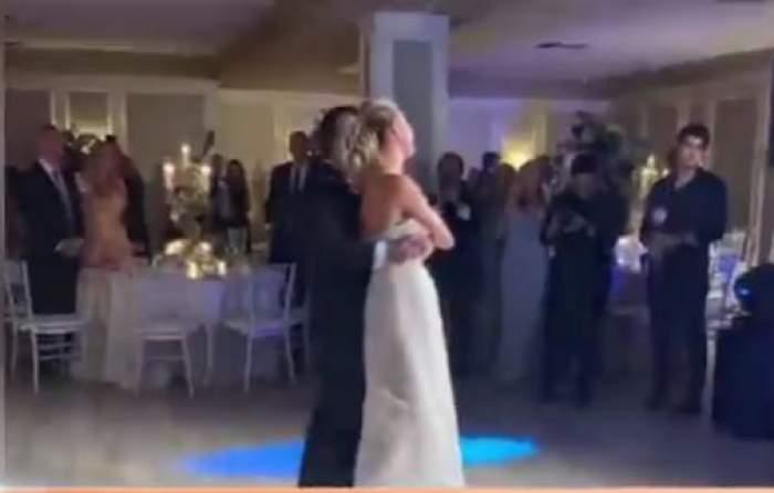 Primele imagini de la nunta Alinei Vidican! Mireasa a primit cadou o mașină de jumătate de milion de euro / VIDEO