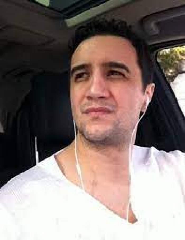 Lucian Becali, selfie în mașină