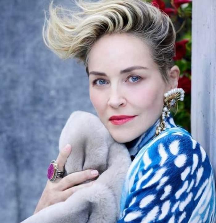 """Durere fără margini în familia lui Sharon Stone. Actrița a făcut cumplitul anunț: """"Avem nevoie de un miracol"""""""