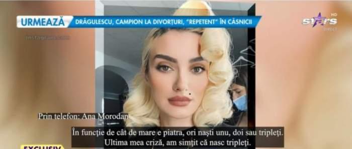 Ana Morodan, la Antena Stars