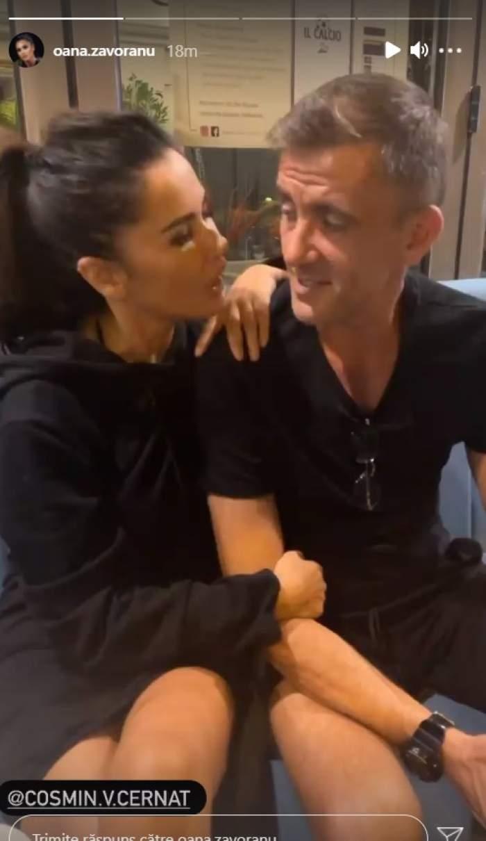 """Oana Zăvoranu, la brațul lui Cosmin Cernat. Cei doi și-au adus aminte de vremurile bune: """"Suntem adevărăciunile televiziunii"""" / VIDEO"""
