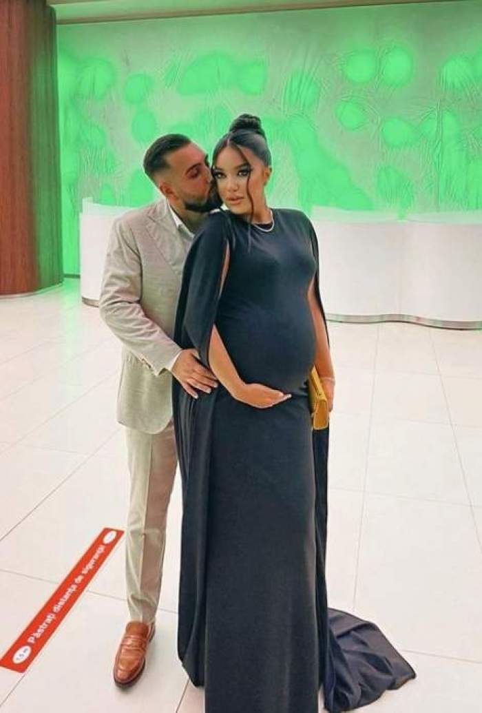 Larisa Udilă însărcinată