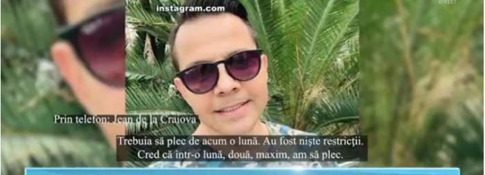 Jean de la Craiova, interviu emisiune TV