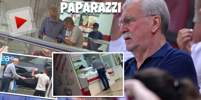 """Dinu """"Vamă"""", afectat de pandemie? Greul fotbalului a dat uitării piețele din Dorobanți și Floreasca și de data aceasta a ales să meargă printre """"muritori"""" la cumpărături / PAPARAZZI"""