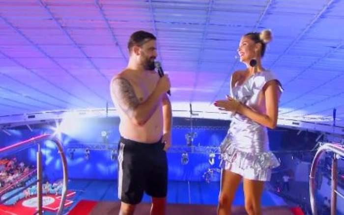Cătălin Rizea și Ramona Olaru la Splash! Vedete la apă