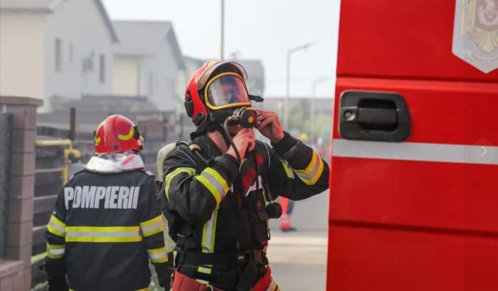 Explozie puternică la sediul Inspectoratului pentru Situații de Urgență București. Un bărbat a suferit arsuri grave