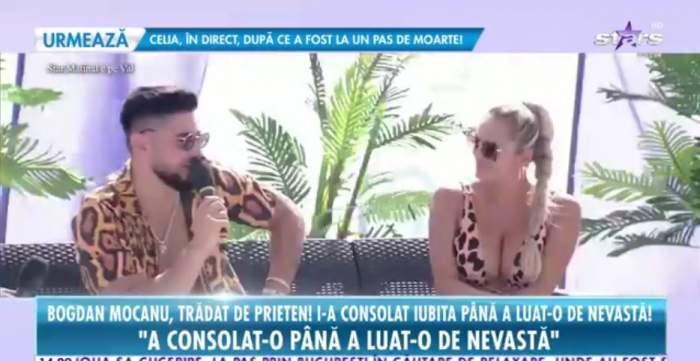 """Bogdan Mocanu, trădat de unul dintre prietenii lui. I-a consolat fosta iubită după despărțire, iar apoi a luat-o de nevastă: """"Prima oară m-am enervat"""" / VIDEO"""