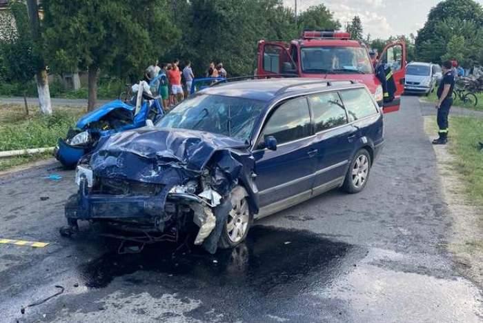 Accident mortal la Arad! O femeie s-a stins din viață și un copil este grav rănit