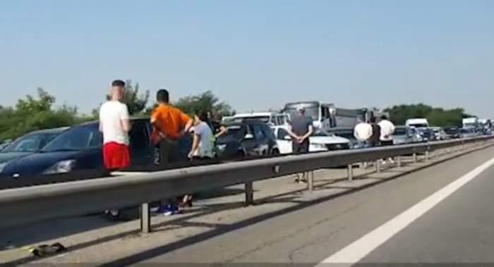 imagini de la accident