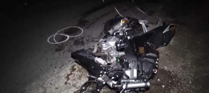 Motociclist de 19 ani, mort după ce a încercat să evite coliziunea cu o mașină care i-a tăiat calea. Tragedia a avut loc în Dâmbovița