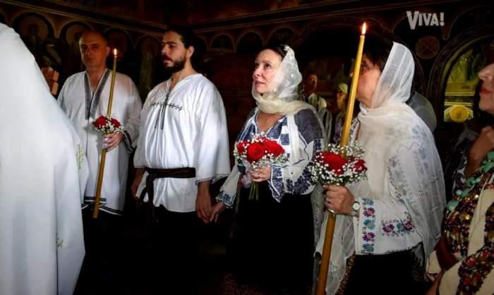 Fiica lui Radu Beligan, nuntă secretă în România. Primele imagini de la ceremonia actriței / FOTO