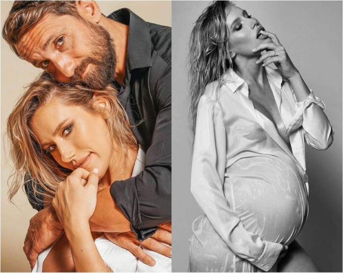 Cola Gabriela Priscariu însărcinată
