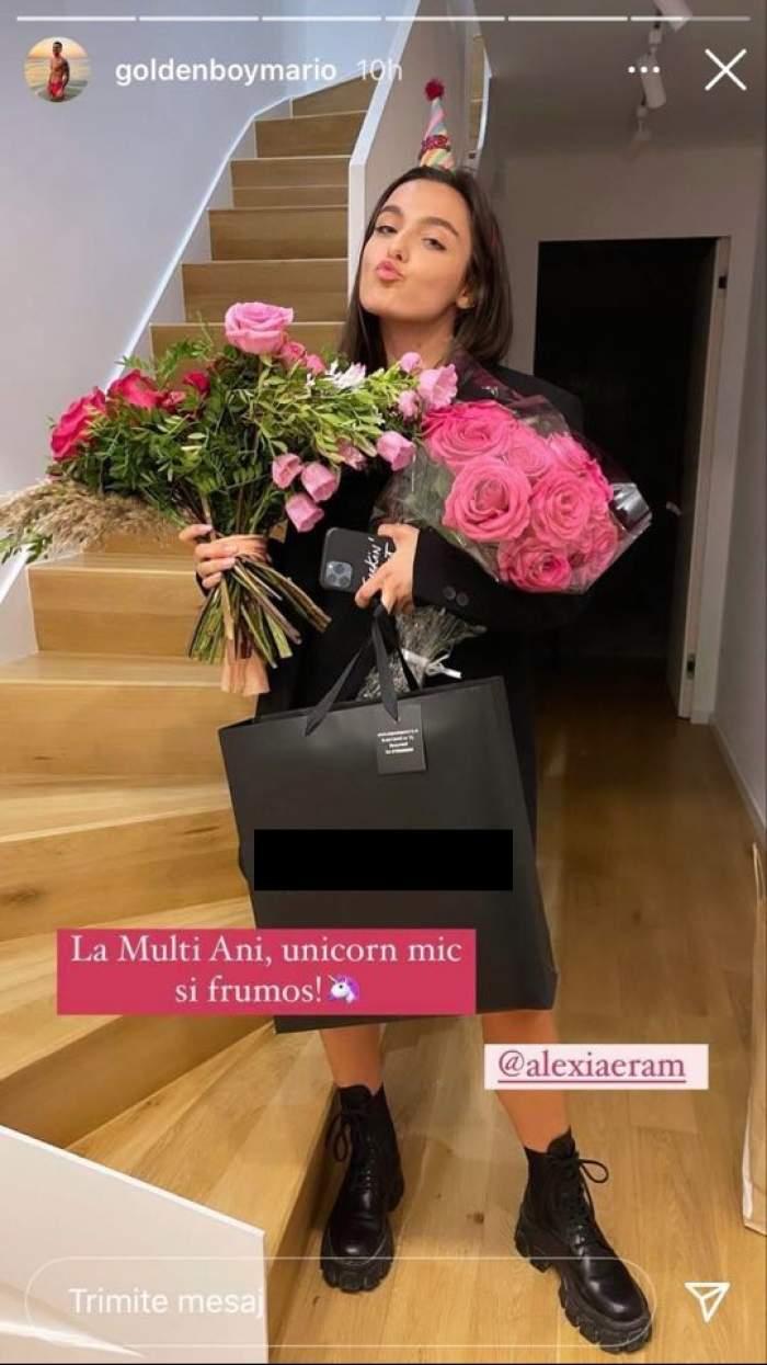 Mario Fresh și Alexia Eram, împăcare surpriză?! Ce urare i-a făcut artistul fiicei Andreei Esca de ziua ei de naștere / FOTO