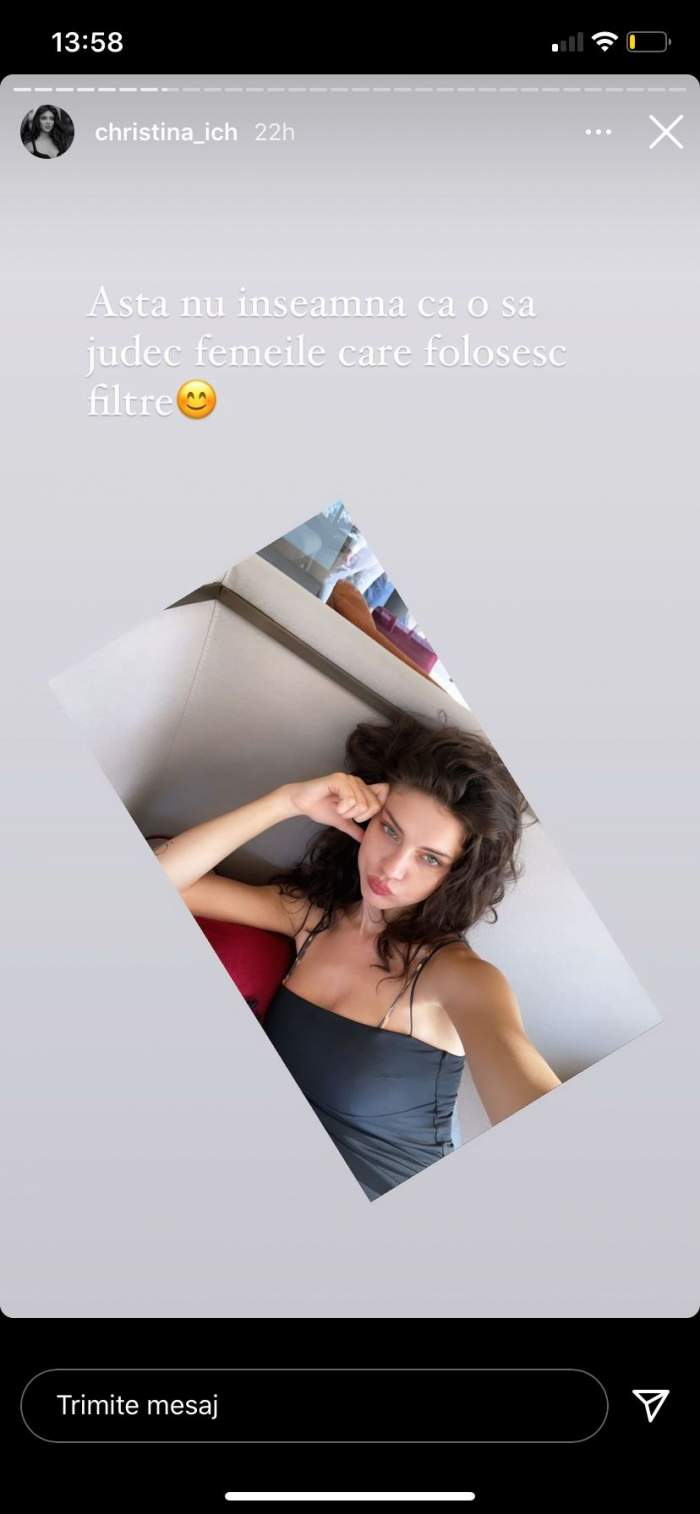 """Cristina Ich, scandal pe rețelele de socializare. Ce decizie a luat vedeta: """"Am ajuns din cauza unor frustrate..."""" / FOTO"""